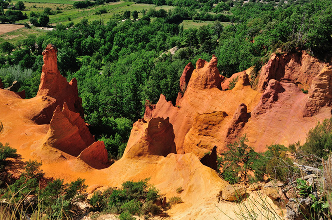 Ocre - Roussillon