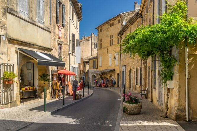 The village of Lourmarin, Luberon