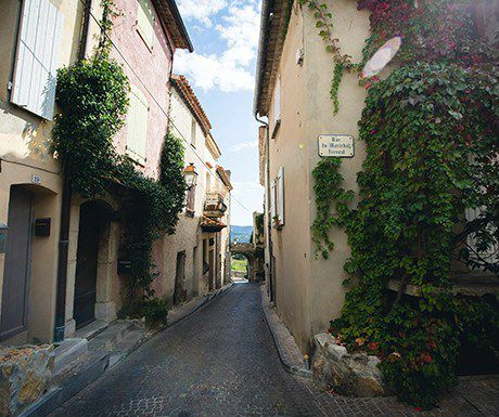 The villages and towns of Provence