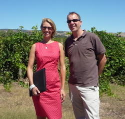 Colin and Helen Bowles, Provence , France